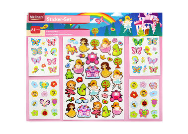 Children Popular Kids Sticker Printing Cartoon Colorful Offset Printing