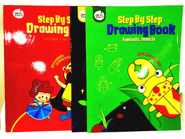 China Drawing Children's Board Book Printing On Demand Film Lamination Embossing factory