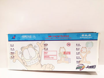 China Boarding Pass Printed Thermal Ticket Stock , Travel Air Ticket Printing factory