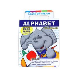 China Cute Elephant Cover Children's Alphabet Learning Book Printing, Children's Purse Book Custom Printing factory