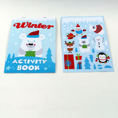 China Fancy Custom Softcover Sticker Childrens Book Printing Colorful And Attractive factory