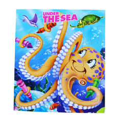 China Fun Children Under The Sea Jigsaw Puzzles Board Games Printing For Baby / Kids puzzle games puzzle fun cardboard puzles factory