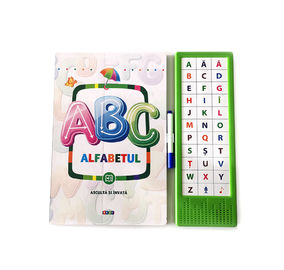 China Early Learners toys ABC children learning book English factory