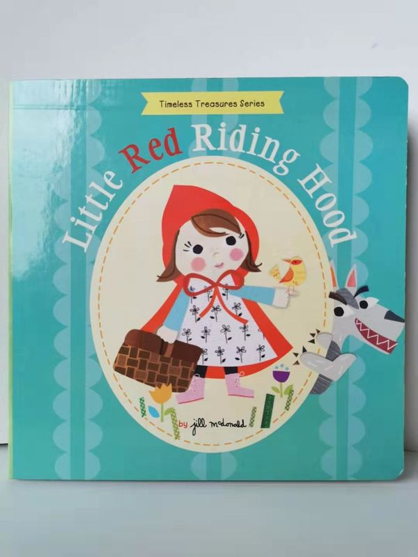 Fairy Story Baby Board Book Printing , Custom Board Book Printing For Early Education supplier