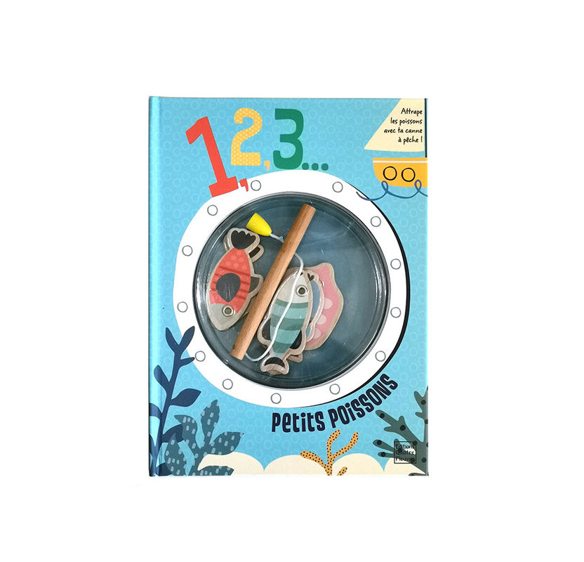 Education Ocean Theme Babies Board Book Printing
