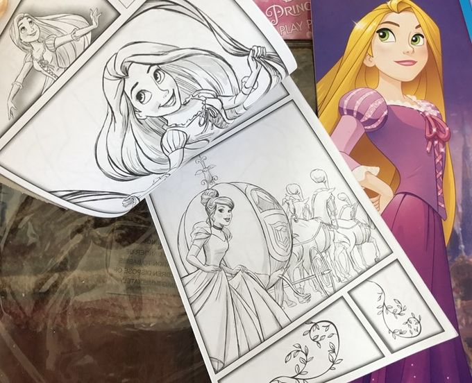 OEM design Offset Print softcover kids coloring book, color book printing drawing ​